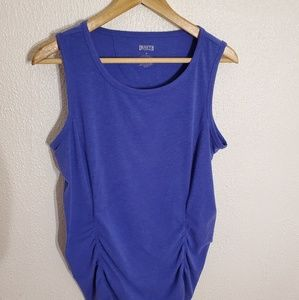 Duluth trading company women's blue workout top